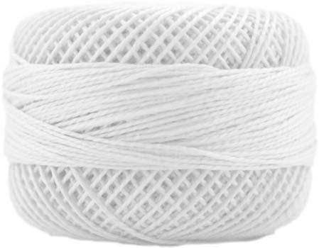 Navy Blue 3324-10g Ball Egyptian Cotton Presencia Finca Perle No.8 Thread