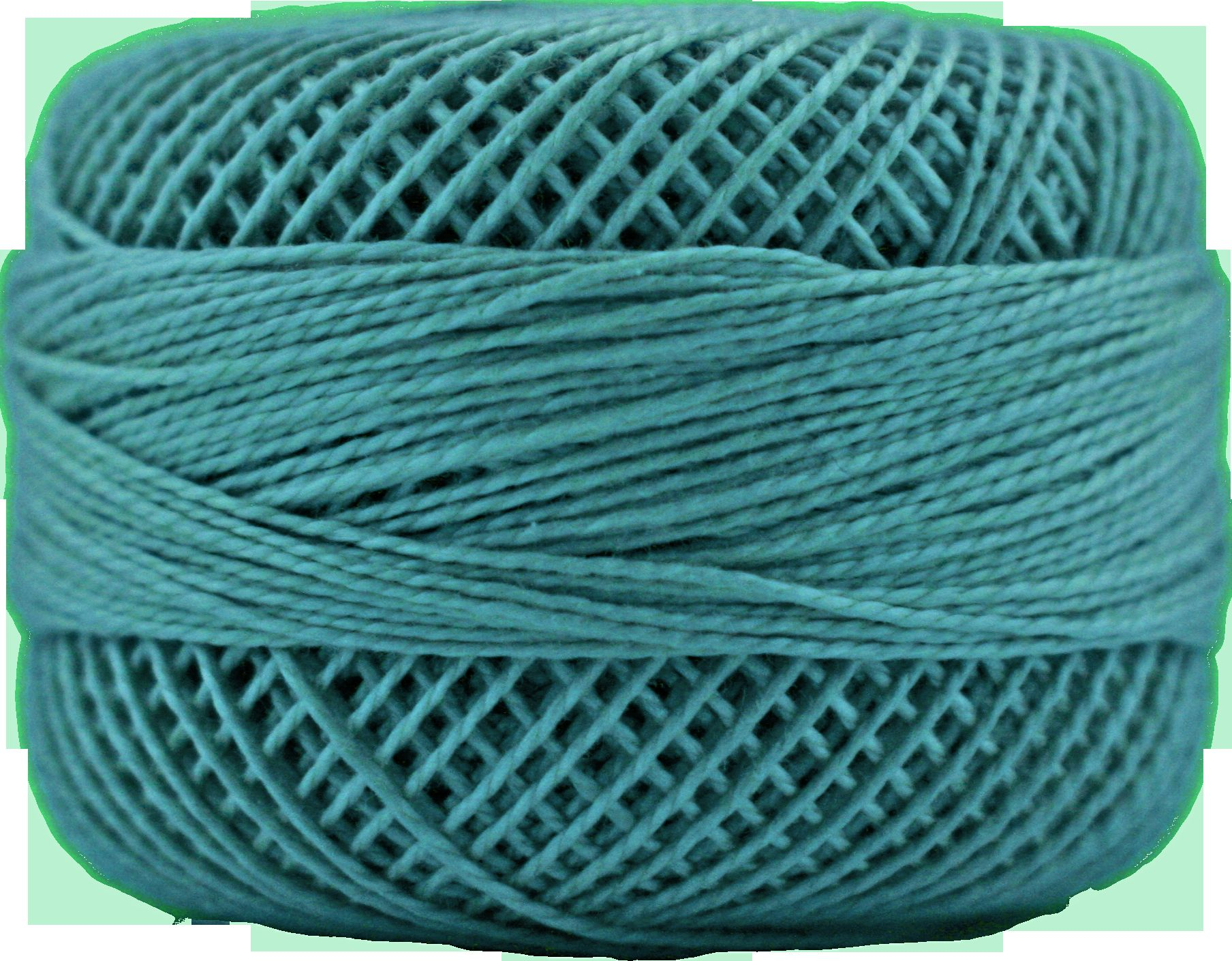 Finca Perle No.8 - Medium Teal Green