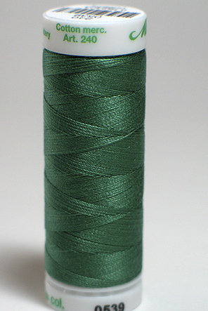 Bulrushes Green - Fine Embroidery Thread
