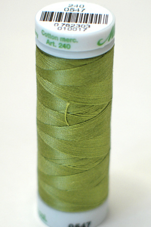 Yellow Green - Fine Embroidery Thread
