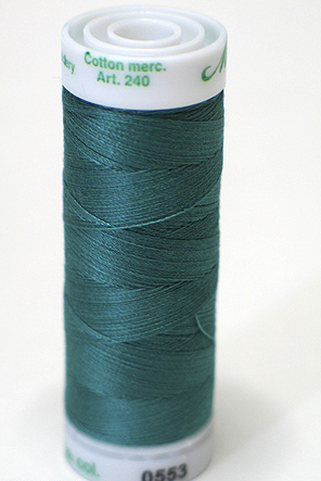 Blue Green - Fine Embroidery Thread