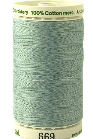 Spearmint - Fine Embroidery Thread