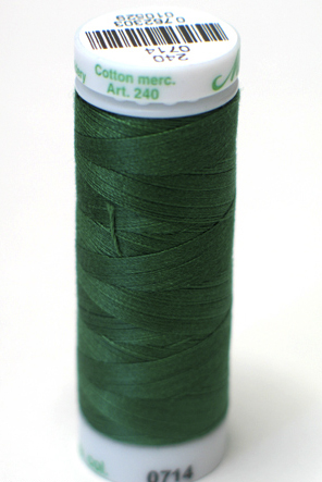 Deep Green - Fine Embroidery Thread