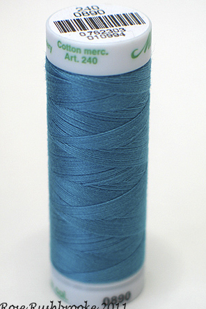 Turquoise - Fine Embroidery Thread