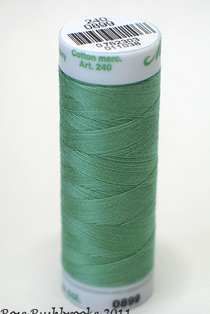 Bottle Green - Fine Embroidery Thread