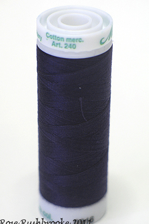 Navy - Fine Embroidery Thread