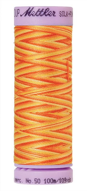 Orange Ana - Silk Finish Multi Art. 9075
