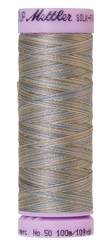 Silvery Blues - Silk Finish Multi Art. 9075