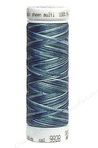 Indigo Shades - Polysheen Multi Thread