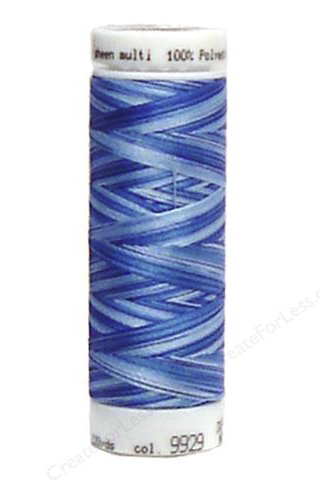 Nautical Blues - Polysheen Multi Thread