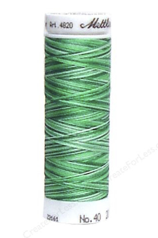 Minty Leaves - Polysheen Multi Thread