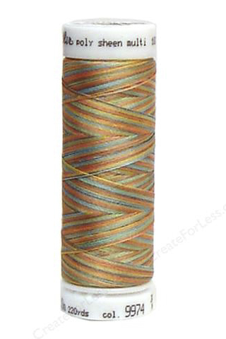 Coast Mix - Polysheen Multi Thread